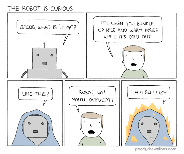 Poorly Drawn Lines Cozy