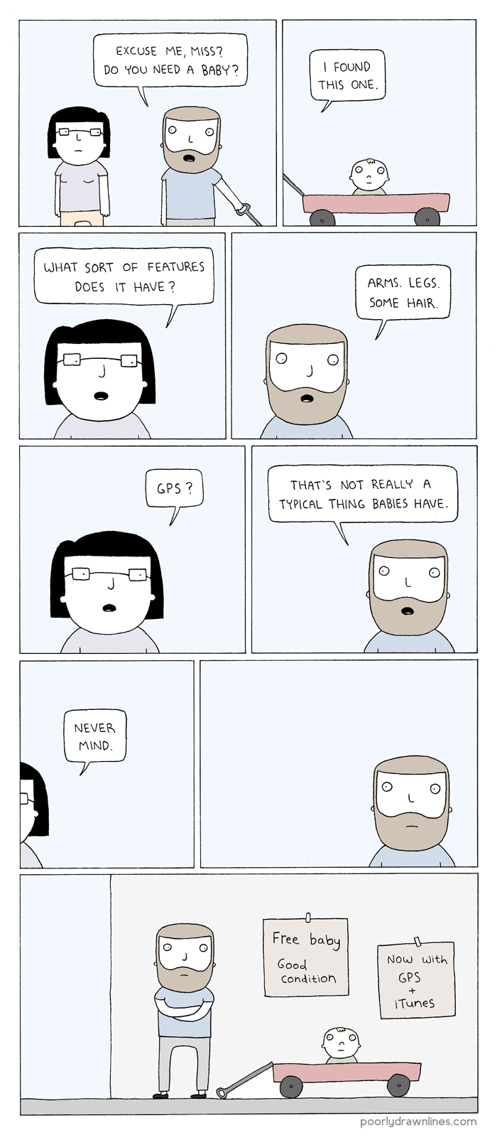 Poorly Drawn Lines – Features