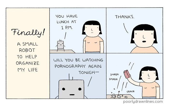 poorly drawn lines � finally