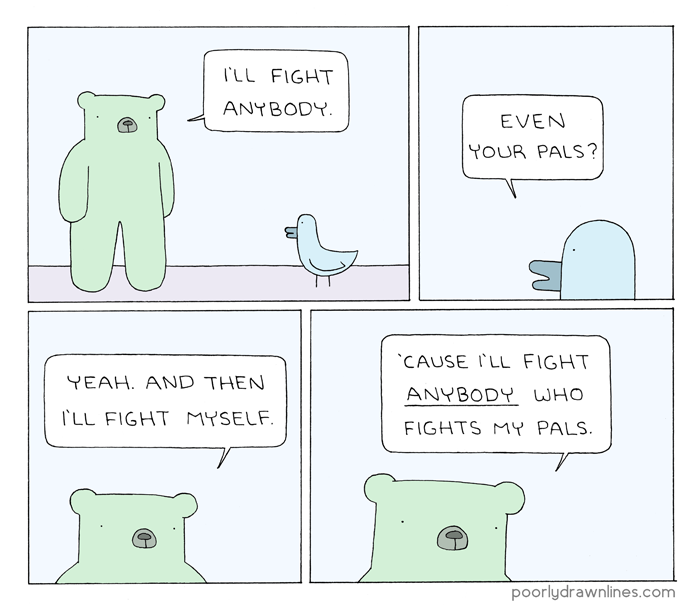 Poorly Drawn Lines